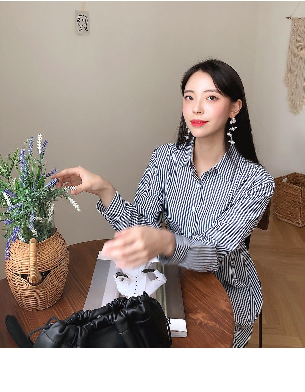리리앤코 여심한스푼 스트라이프 원피스